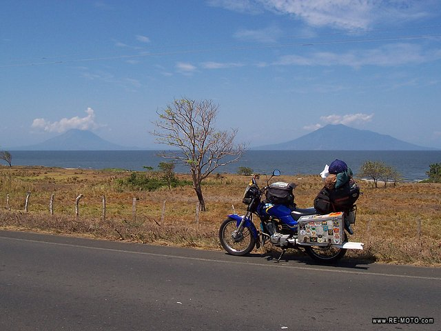 The two volcanos of the Island of Ometepe