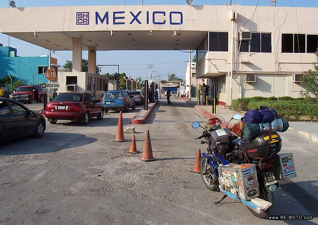 Border of Belice and México