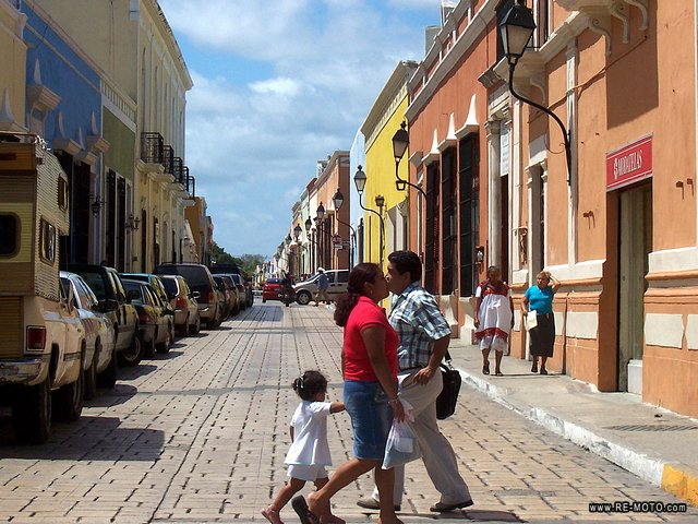 Campeche, lovely colonial city