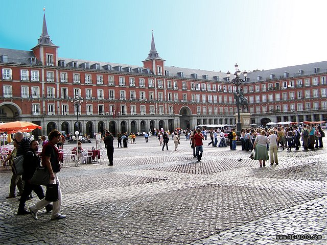 Madrid plaza mayor - Centro historico de madrid ...