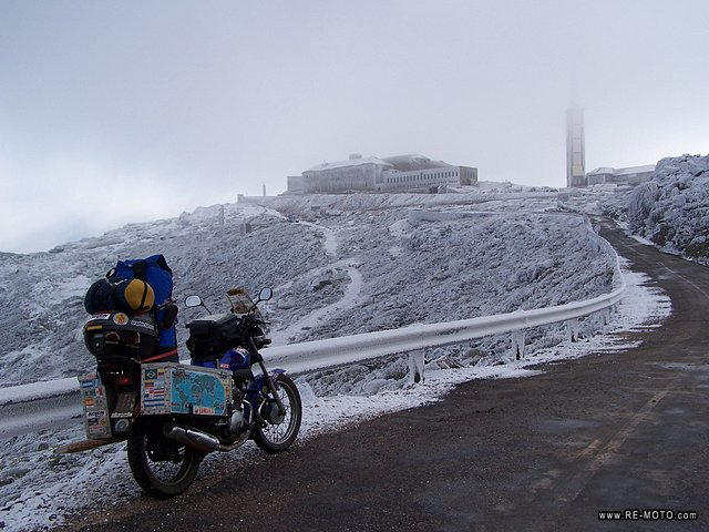 On the top of the <b>Pe&ntilde;a de Francia</b> it seems as though you were in a different world, frozen in time.