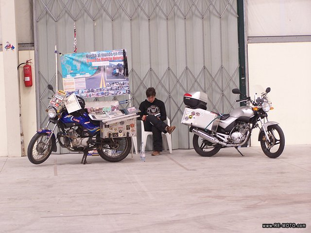 At another motorcycle festival, in  Pombal, waiting for the people to arrive.