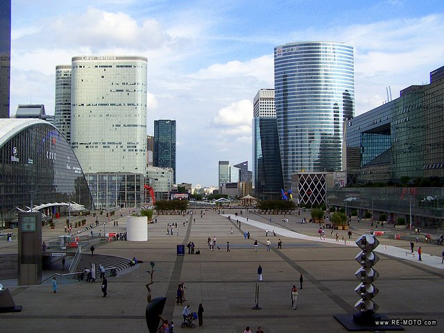 Office area La Defense.