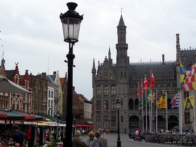 The Belgians are said to have the best fries, and Bruges is definitely not a bad place to enjoy them.