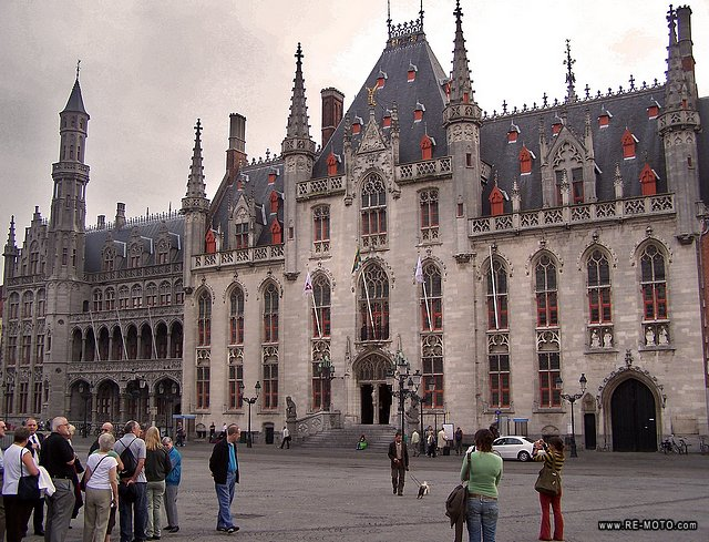 The town hall of Bruges.