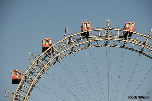 "The famous ""Prater"" of Vienna."