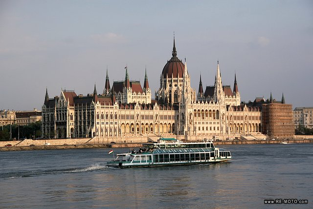 One of the most beautiful buildings in the world, the parlament of Budapest.