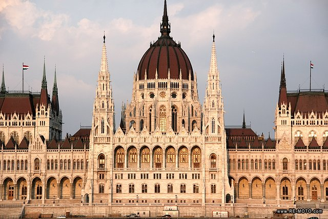 Parlament of Budapest.
