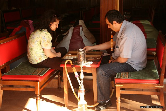 Backgammon (called Tavla in Turkey) is a very typical game in Turkey and other middle east countries. The game originated there.