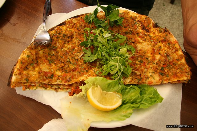 Typical Lahmacun