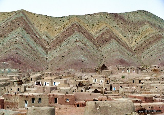The colors of the mountains and the clay villages fascinated us.