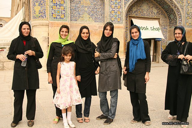 Girls in Esfahan.