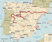 cáceres espanha mapa Zdjęcia: Hiszpania cáceres espanha mapa
